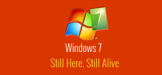 Laptops with Windows 7. Still Here. Still Alive.